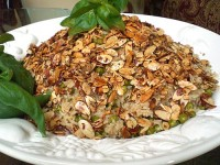 Миндальный рис