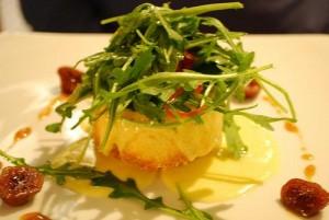 Печеный козий сыр