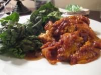 Энчиладас с тофу и красной капустой