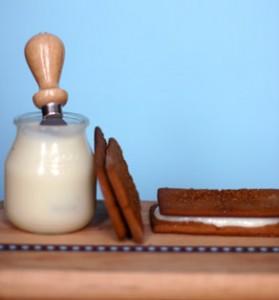 Крекер со сливочным сыром