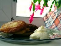 Картофельно-тыквенные оладьи (пакоры)