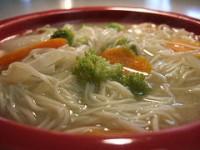 мисо суп с лапшой