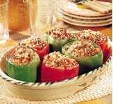 Фаршированные овощи по-гречески