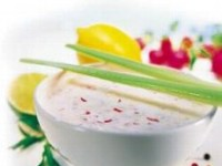 Каренс с чесночным соусом
