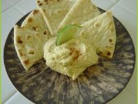 Невероятный двойной зеленый хумус