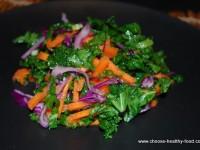 Четырехцветный салат из капусты