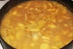 Суп из пастернака с приправой карри