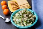 Легкий хрустящий салат с тофу