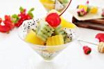Вегетарианское фруктовое желе