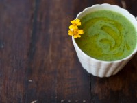 Рецепт супа со шпинатом и цукини