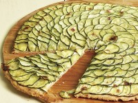 Пирог с цуккини и брынзой